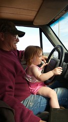 Kimberly Martin - Daddy & Daughter (Missouri Agriculture) Tags: family youth children child farm country mo missouri ag roads agriculture countryroads 2016 learningtodrive moag youngdrivers prideofthefarm missouriag youthinag