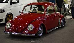 Red Old Beetle (karlbadkin) Tags: show bus car vintage golf beetle german bmw beatle modified jetta van audi polo herbie rocco vag scirocco herby