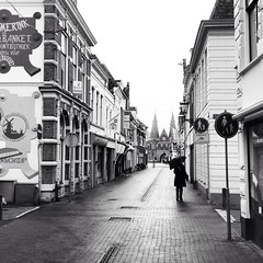 Madness subsides..... (80D-Ray) Tags: blackandwhite kampen overijssel iphone hanzestad
