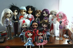 Dollie Family 4.3.16 (I~Háve~A~Heádcold) Tags: family moon india white black rabbit me wednesday james duck lily sebastian tiger dal mini disney peter edge captain butler tuesday pullip pan nina piper hook brandi lunatic vivien nomado regeneration zade draven dollie takumi kanta xenith taeyang byul eggsy lipoca
