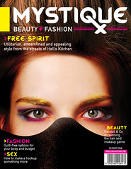 Magazine Nameplate (Graphic Design | Illustration) Tags: beauty fashion magazine typography design graphicdesign mockup magazinecover typedesign bookdesign coverdesign