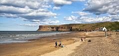 Saltburn by the Sea (Martin@Hutton) Tags: sea beach sunshine sand cliffs enjoyment