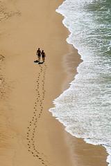 Come With Me To The Algarve! (TablinumCarlson) Tags: ocean leica woman 6 man praia beach portugal water strand spur coast sand couple meer wasser europa europe paar playa atlantic explore lagoa algarve lido dlux kste atlantik carvoeiro explored  praiadecarvoeiro