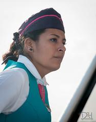 La Srita del ferry (David_Rojo) Tags: sea woman ferry mar mujer gorro perfil profile azafata