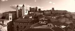 Cáceres (rgrant_97) Tags: panorama españa heritage sepia spain espanha unesco cáceres extremadura património