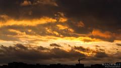 City Sunset (_Giedras_) Tags: city sunset sky sun evening burning lithuania vilnius