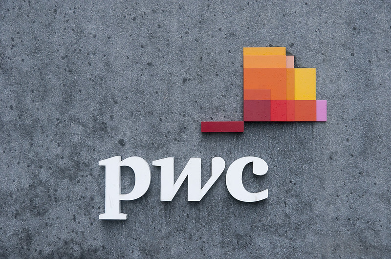 "PwC logo<a href=""http://www.flickr.com/photos/28211982@N07/26153334456/"" target=""_blank"">View on Flickr</a>"