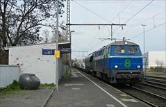 NIAG 8 (OVNL) Tags: br 8 db v 111 bahn deutsche 216 160 055 niag verkehrsbetriebe aktiengesellschaft niederrheinische aktiengesellschaftniederrheinische