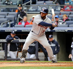 Luis Valbuena at the plate (apardavila) Tags: sports baseball yankeestadium mlb houstonastros majorleaguebaseball luisvalbuena