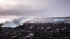 Jokulsarlon Ice beach - Iceland (Giorgino23) Tags: longexposure ice canon iceland spiaggia ghiaccio 6d islanda
