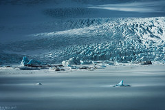 The Fjallsrln blues (Ron Jansen - EyeSeeLight Photography) Tags: old blue winter sun sunlight white snow cold ice contrast frozen iceland soft glow south lagoon glacier crevasse glacial colortones fjallsrln nikond810 sigmaapo70200mmf28exdgoshsm