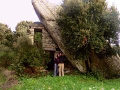 Ikaria's remotest hinterland 60 - Happy mother and daughter back in Vrakades village (angeloska) Tags: house architecture march village ikaria aegean greece pezi hinterland hikingtrails   langada    vrakades  opsikarias