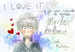My Hero Academia (amy.nata) Tags: cute amy awesome manga dessin hero academia draw nata blushing aminata peacelove izuki rougissant midoriya myheroacademia