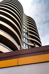 Vauxhall curves (Bruce Poole) Tags: city uk england urban london tower up architecture town bruce curves ciudad stadt urbano block february poole ville towerblock millbank vauxhall urbain cite 2016 linesandcurves area built stadtisch
