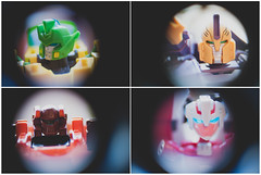 Wreckers (MMortAH) Tags: macro green lensbaby toy toys robot nikon deluxe vinyl plastic transformers micro voyager animated springer 28 40mm generations nikkor mmc spartan hasbro sins 3p wreckers tfa impactor d90 arcee 042x roadbuster mastermindcreations