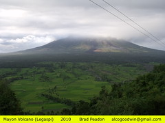 Philippines - Mayon Volcano (alcogoodwin) Tags: scenery philippines mayon bicol ricefields legaspi