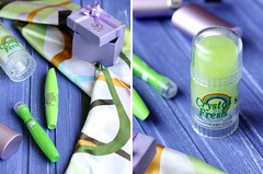 Details (I_Nneska) Tags: green purple brushes mascara shawl deodorant antiperspirant