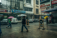 Ignorance. (Alleat) Tags: street city blue urban beautiful rain indonesia photography mess flickr moody cityscape artsy abc bandung glance flick braga baru feelings pasar