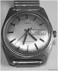 Vieille montre de mon preN&B (patrice3879) Tags: bijoux bracelet vieille bote montre