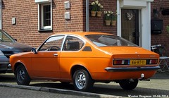 Opel Kadett C Coup 1977 (XBXG) Tags: auto old holland classic netherlands car vintage germany deutschland automobile c nederland voiture german 1977 allemagne paysbas coupe coup opel deutsch limburg ancienne kadett duits opelkadett weert allemande 66rt11
