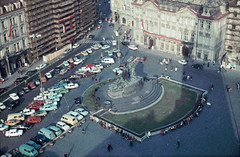 cca 1981 - Old Town Square in Prague (beranekp) Tags: old history czech prague alt prag praha