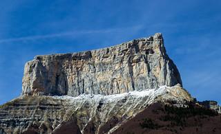 Le Mont Aiguille 'French alps'
