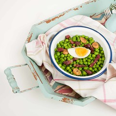Guisantes con jamn (Frabisa) Tags: egg ham homemade peas huevo jamon guisantes casero
