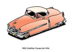 1952 DeVille (Don Moyer) Tags: auto car ink notebook automobile cadillac moyer brushpen darwing molesekine vehivle donmoyer