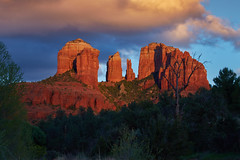 Sunset at Cathedral Rock (another_scotsman) Tags: sunset arizona landscape sedona cathedralrock