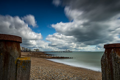 Eastbourne Pier | East Sussex | United Kingdom (Jamie Dean) Tags: sea beach water architecture landscape coast pier seaside waves waterfront stormy shore eastbourne groynes