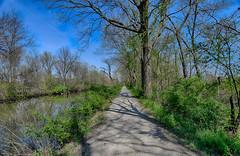 Spring along the Tow Path (kendoman26) Tags: nikon tokina hdr imcanal enjoyillinois iandmcanal nikond3300 travelillinois imcanaliandmcanal tokina1228 nikhdrefexpro2 tokinaatx1228prodx