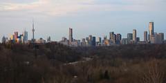Toronto Skyline (Quistian) Tags: bridge toronto building skyline canon rps leaside 2016 t5i 201604 20160421