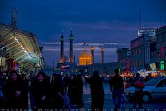Blue hours at Qum (T   J ) Tags: nikon iran d750 qom qum teeje nikon2470mmf28