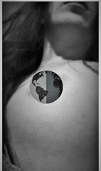 The world you live in (Mango*Photography) Tags: world portrait art girl nude poster globe breast artistic contemporary shades sensual unusual clever provocative evocative unconventional bergonzoni giuliabergonzoni theworldyoulivein