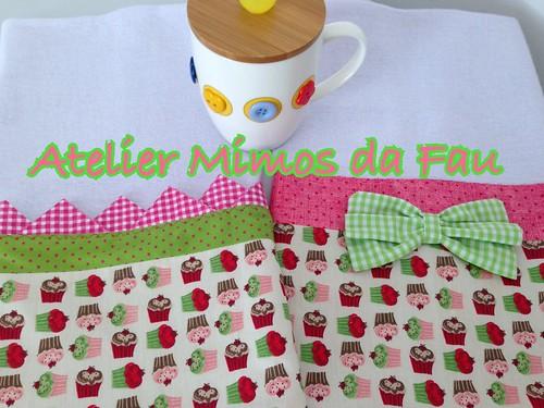 Panos de Prato Cupcakes