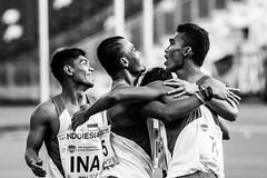 78th Singapore Open Track and Field (Leandro Ngo) Tags: sports hub athletics relay