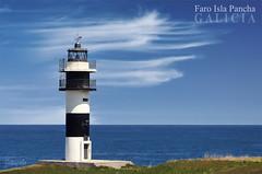 Faro Isla Pancha (Juan Carlos Balbs) Tags: espaa costa lighthouse mar spain edificio galicia ribadeo islapancha