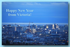 Happy New Year from Victoria (ngawangchodron) Tags: canada bc victoria vancouverisland happynewyear taken29december2015