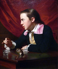 Copley, A Boy with a Flying Squirrel (Henry Pelham), 1765