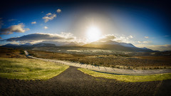 Scotland At It's Best (Tidyshow) Tags: bridge winter sky panorama sun snow mountains beautiful sunshine clouds scotland countryside scenery ben fort sony country scenic scottish william highland range vignette f28 mor nevis spean 1650 a77ii ilca77m2 a77mk2