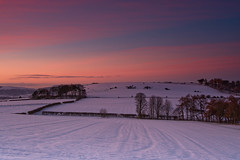 Sunrise over Ayton Quarry. (paul downing) Tags: winter snow sunrise nikon 12 filters hitech greatayton northyorkshire roseberrytopping northyorkshiremoors gnd pd1001 pauldowning d7200 pauldowningphotography