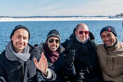 Happy Winter! (LiveToday84) Tags: trip travel winter sea ice water island boat frozen helsinki north suomenlinna d80