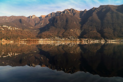 Christmas without snow... (Alex Switzerland) Tags: christmas sea lake canon reflections weihnachten landscape lago eos tessin ticino san riva lac noel paysage natale landschaft riflessi spiegelung lugano paesaggio vitale 6d ceresio canon6d luganeree