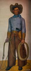 Cowboy (_ Ivor_) Tags: sanfrancisco california art mural tokina coittower fresco pwap cliffordwright d7200 nikond7200 tokina1120 tokina110200mmf28