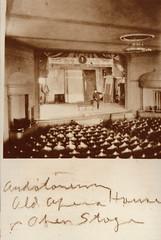 Empire Opera House, Auditioning