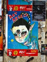 art angels (Ian Muttoo) Tags: toronto ontario canada gimp grimes ufraw somethingstrange artangels dsc52401edit sideshowfestival