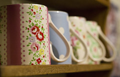 365Project - day 28/366 (jenwuk) Tags: floral mugs tea stripes cups spots 365 cathkidston 365project