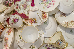 36/366: Pile 'em up (judi may) Tags: china cups crockery saucers 5feb16 canon7d day36366 366the2016edition 3662016
