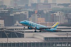 Fukuoka Airport 2016.1.17 (25) JA02FJ / FDA's ERJ-170 (Light Blue) (double-h) Tags: airplane fda   fuk erj170 fukuokaairport  rjff fujidreamairlines ja02fj  eos7dmarkii ef100400mmf4556lisiiusm accinfukuoka