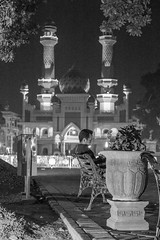 Alone (epponbriam) Tags: blackandwhite streetphotography malang jatim